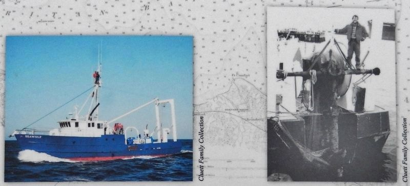 Marker detail: RV <i>Seawolf</i> Admiralty anchor recovery image. Click for full size.