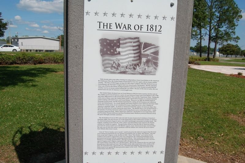 The War of 1812 - Marker image. Click for full size.