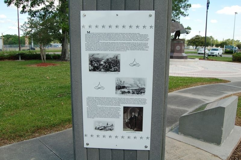 The Mexican-American War Marker image. Click for full size.