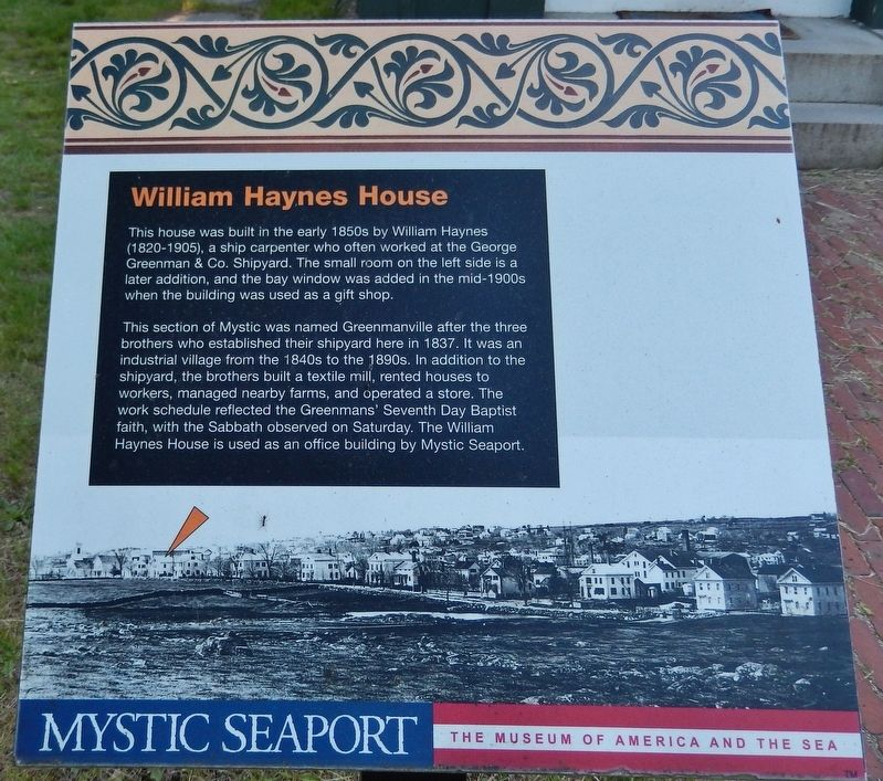 William Haynes House Marker image. Click for full size.