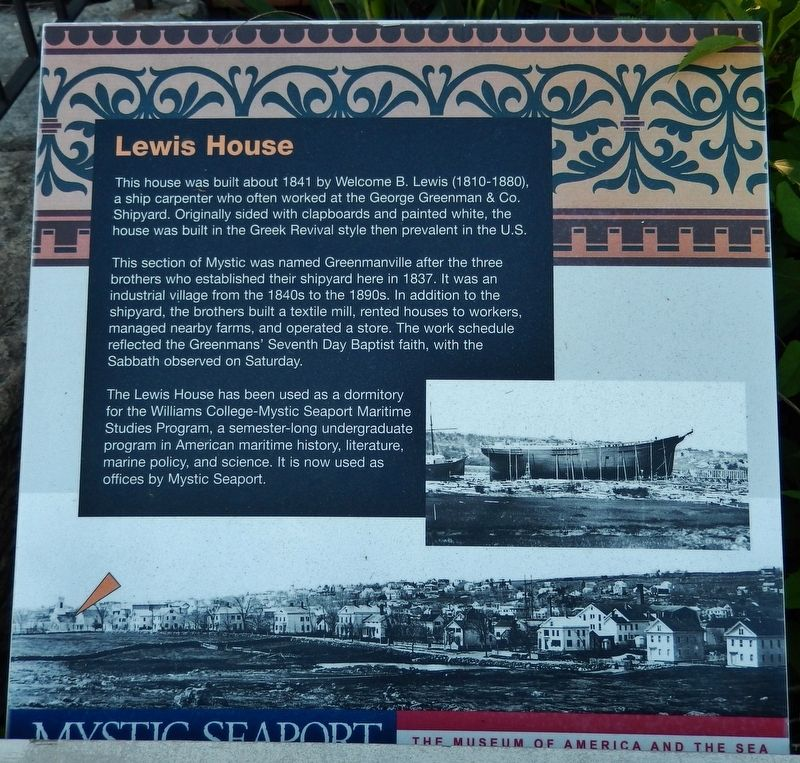Lewis House Marker image. Click for full size.