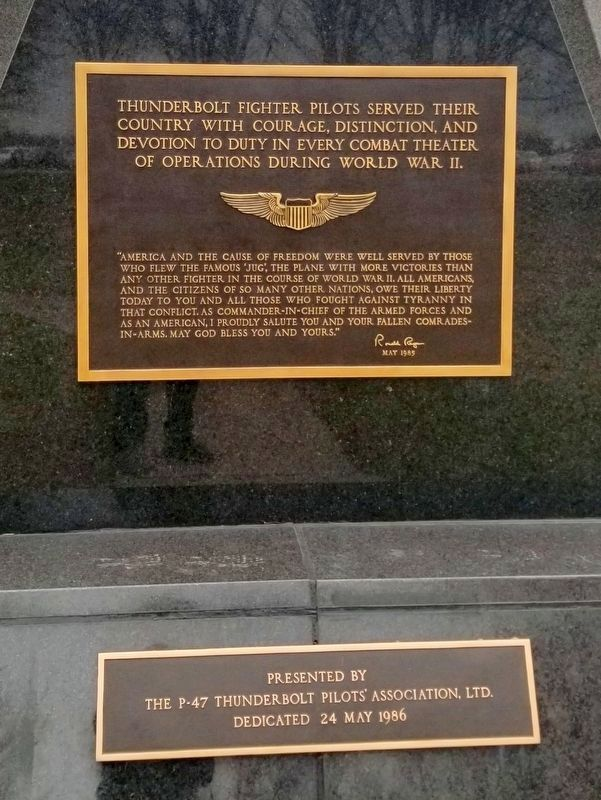 P-47 Thunderbolt Marker image. Click for full size.