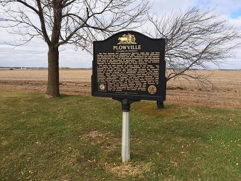 Plowville Marker image. Click for full size.
