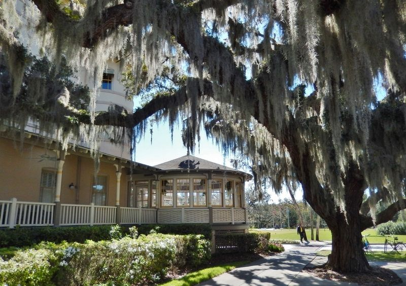 Jekyll Island Clubhouse (<i>west side view</i>) image. Click for full size.