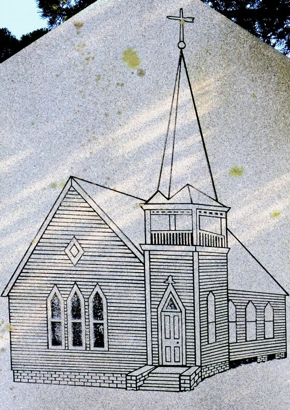 Gethsemane Methodist Protestant Church image. Click for full size.