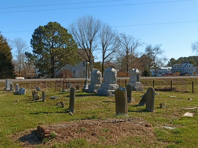 Gethsemane Methodist Protestant Church Graveyard image. Click for full size.