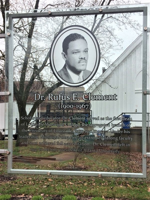 Dr. Rufus E. Clement Marker image. Click for full size.