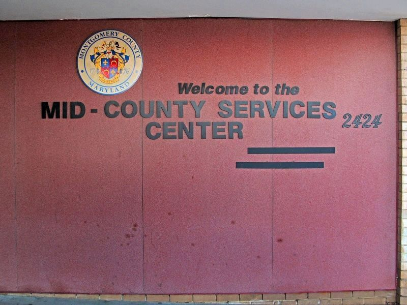 Welcome to the<br>Mid-County Services<br>Center<br>2424 image. Click for full size.