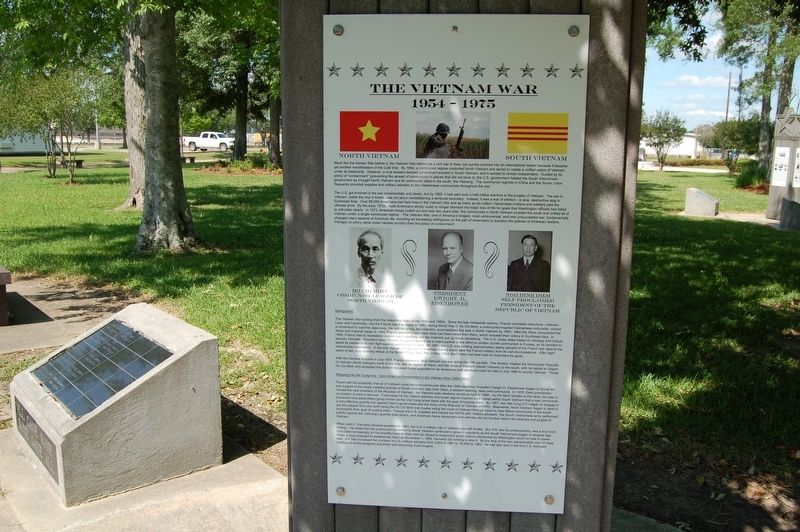 The Vietnam War Marker image. Click for full size.