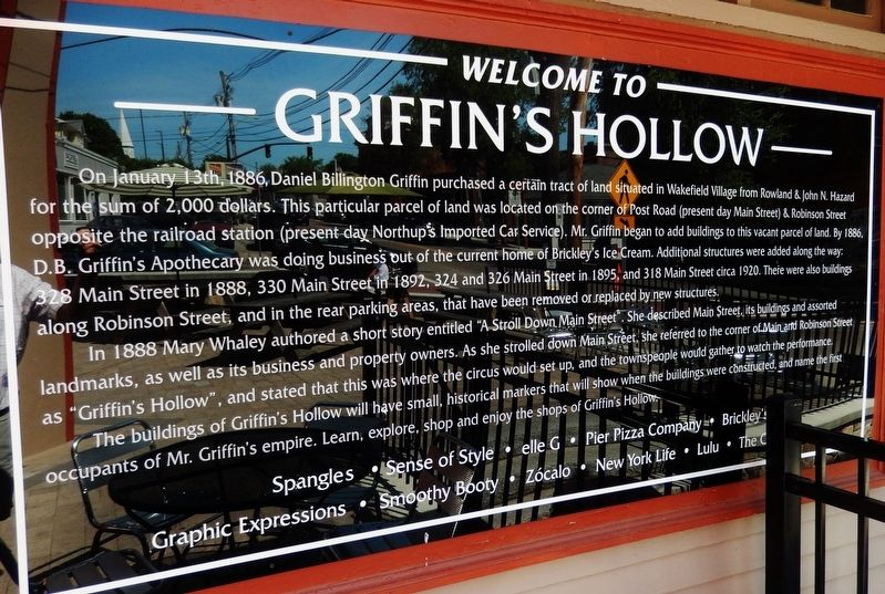 Griffin's Hollow Marker image. Click for full size.