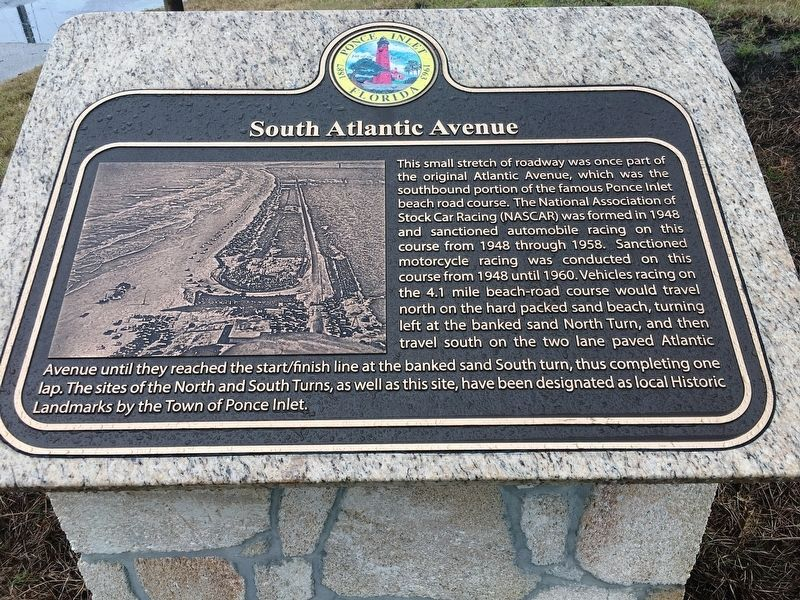 South Atlantic Avenue Marker image. Click for full size.