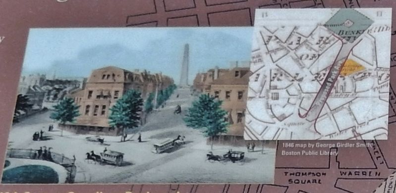 Marker detail: 19th Century Grandiose Boulevard image. Click for full size.