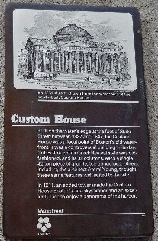 Custom House Marker image. Click for full size.