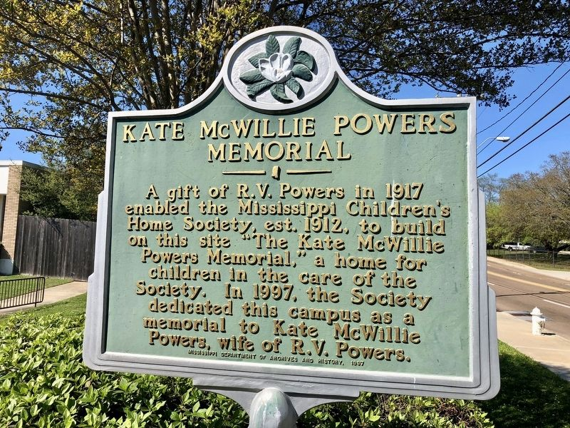 Kate McWillie Powers Memorial Marker image. Click for full size.