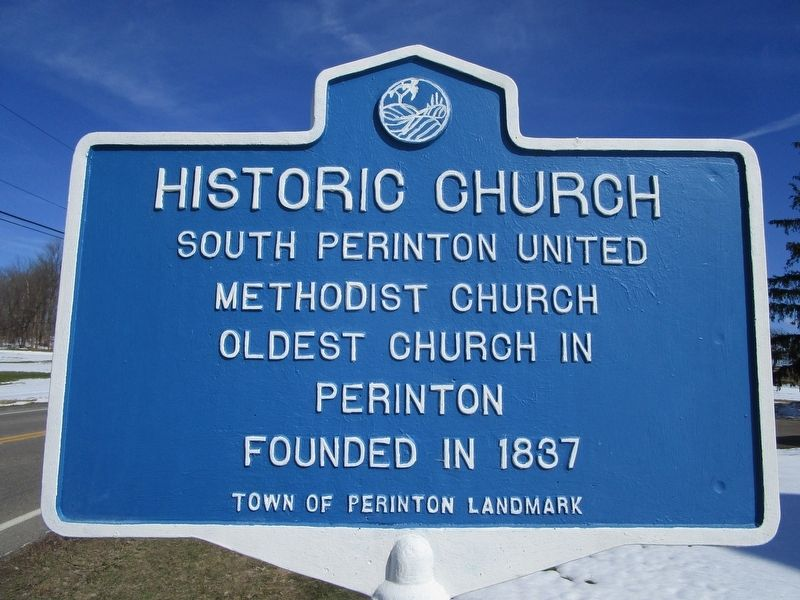 Historic Church Marker image. Click for full size.