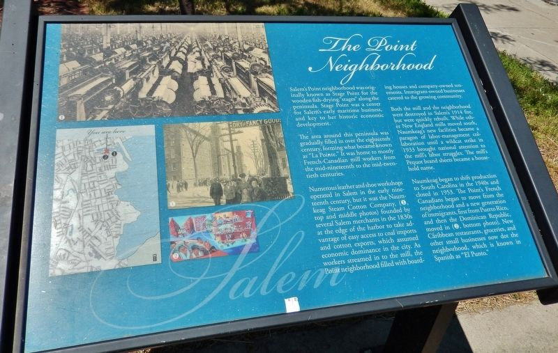 The Point Neighborhood Marker image. Click for full size.