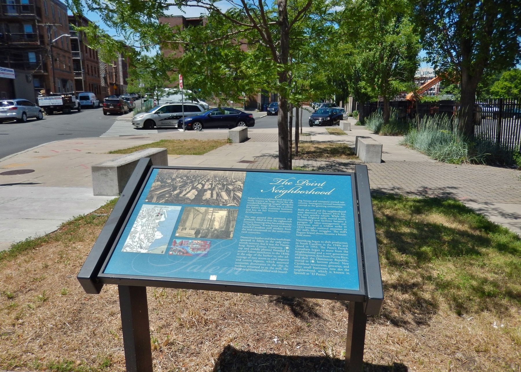 The Point Neighborhood Marker (<i>wide view</i>) image. Click for full size.