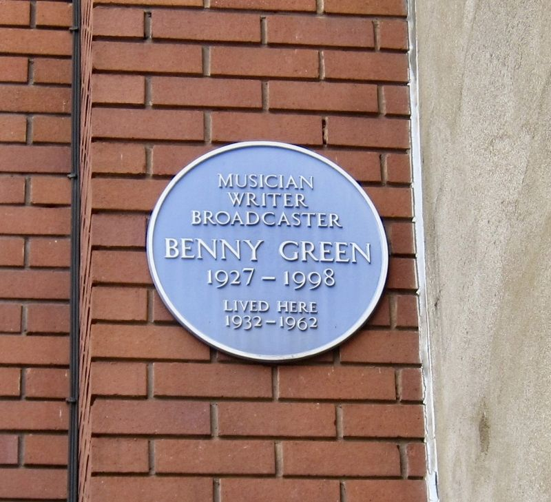 Benny Green Marker image. Click for full size.