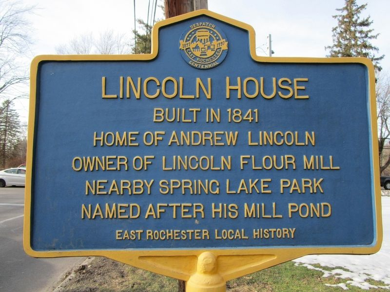 Lincoln House Marker image. Click for full size.