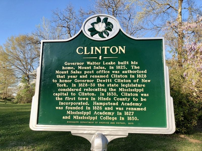 Clinton Marker image. Click for full size.