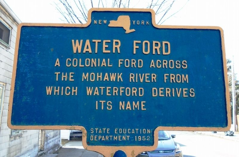 Water Ford Marker image. Click for full size.