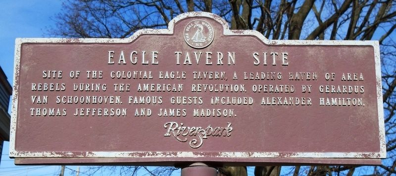 Eagle Tavern Site Marker image. Click for full size.