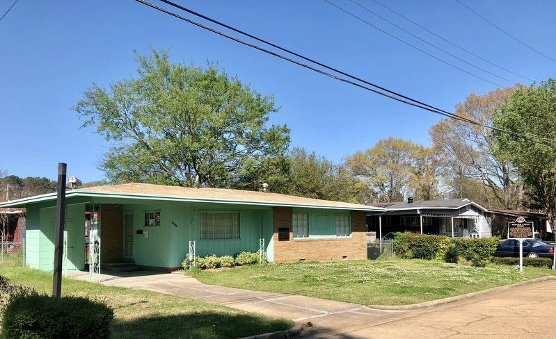 Medgar Evers Home image. Click for full size.