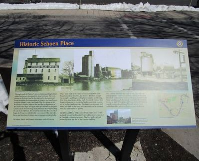 Historic Schoen Place Marker image. Click for full size.