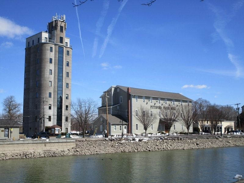 Pittsford Four Mill & Grain Elevator image. Click for full size.