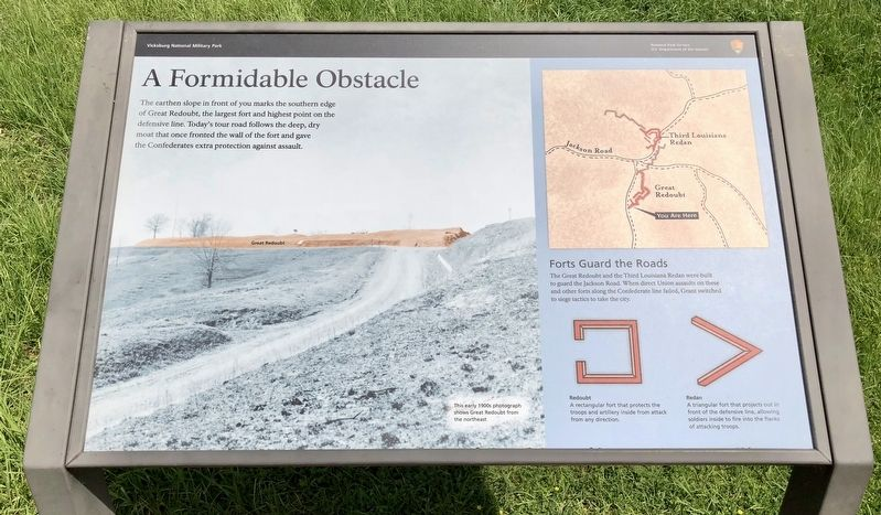 A Formidable Obstacle Marker image. Click for full size.