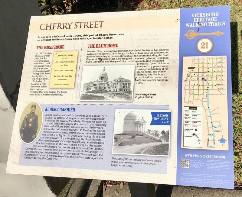 Cherry Street Marker image. Click for full size.