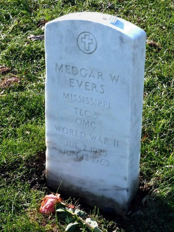 Medgar W. Evers image. Click for full size.