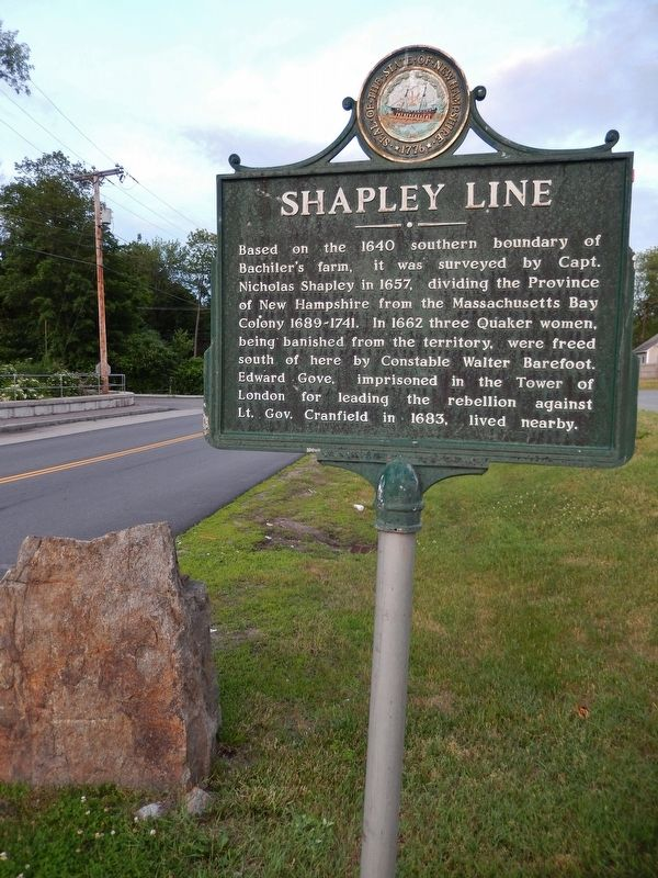 Shapley Line Marker (<i>tall view</i>) image. Click for full size.