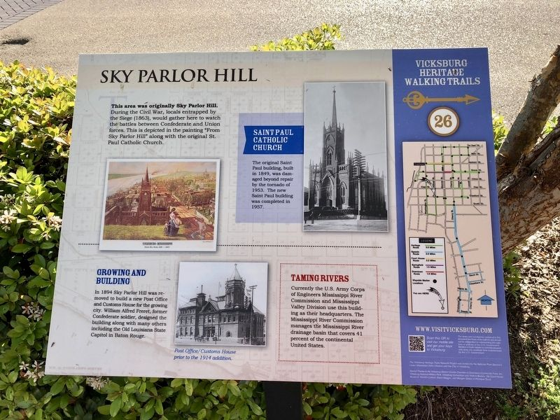 Sky Parlor Hill Marker image. Click for full size.