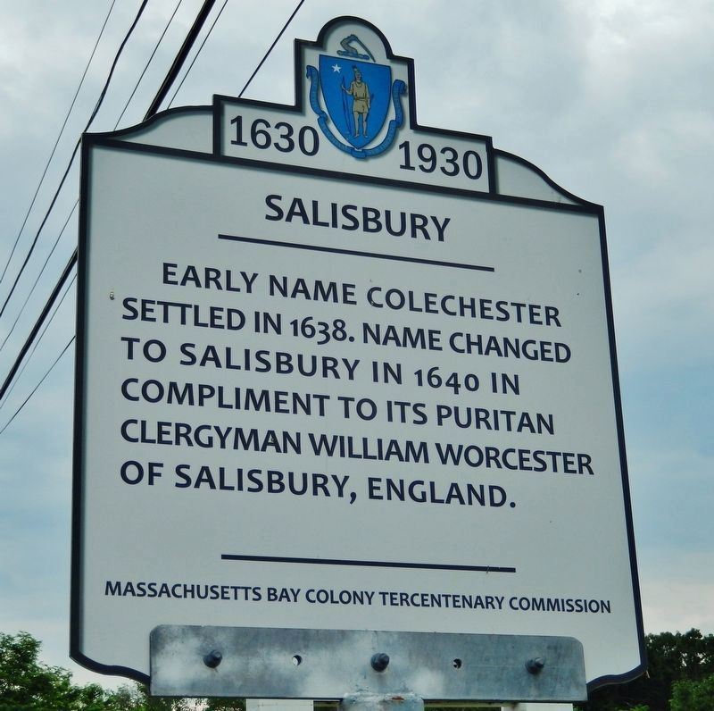 Salisbury Marker image. Click for full size.