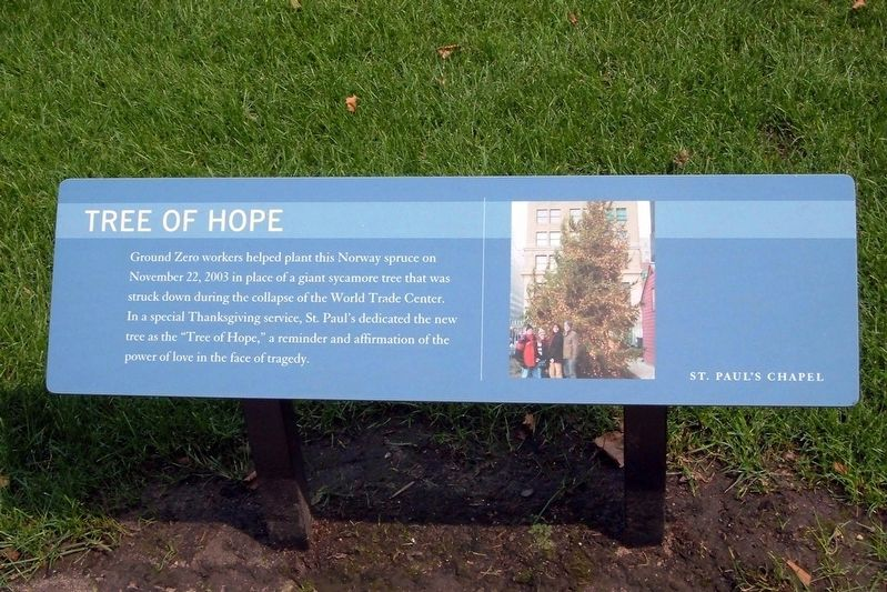 Tree of Hope Marker image. Click for full size.