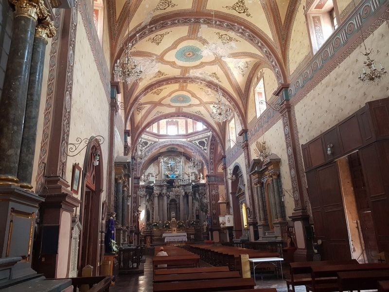 An interior view of The Old Parish Church of Salamanca image. Click for full size.