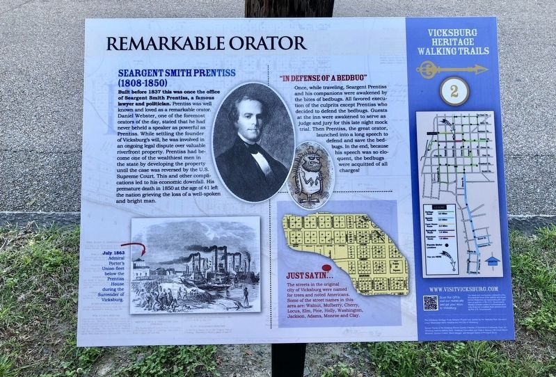 Remarkable Orator Marker image. Click for full size.