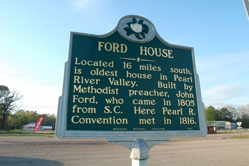 Ford House Marker image. Click for full size.
