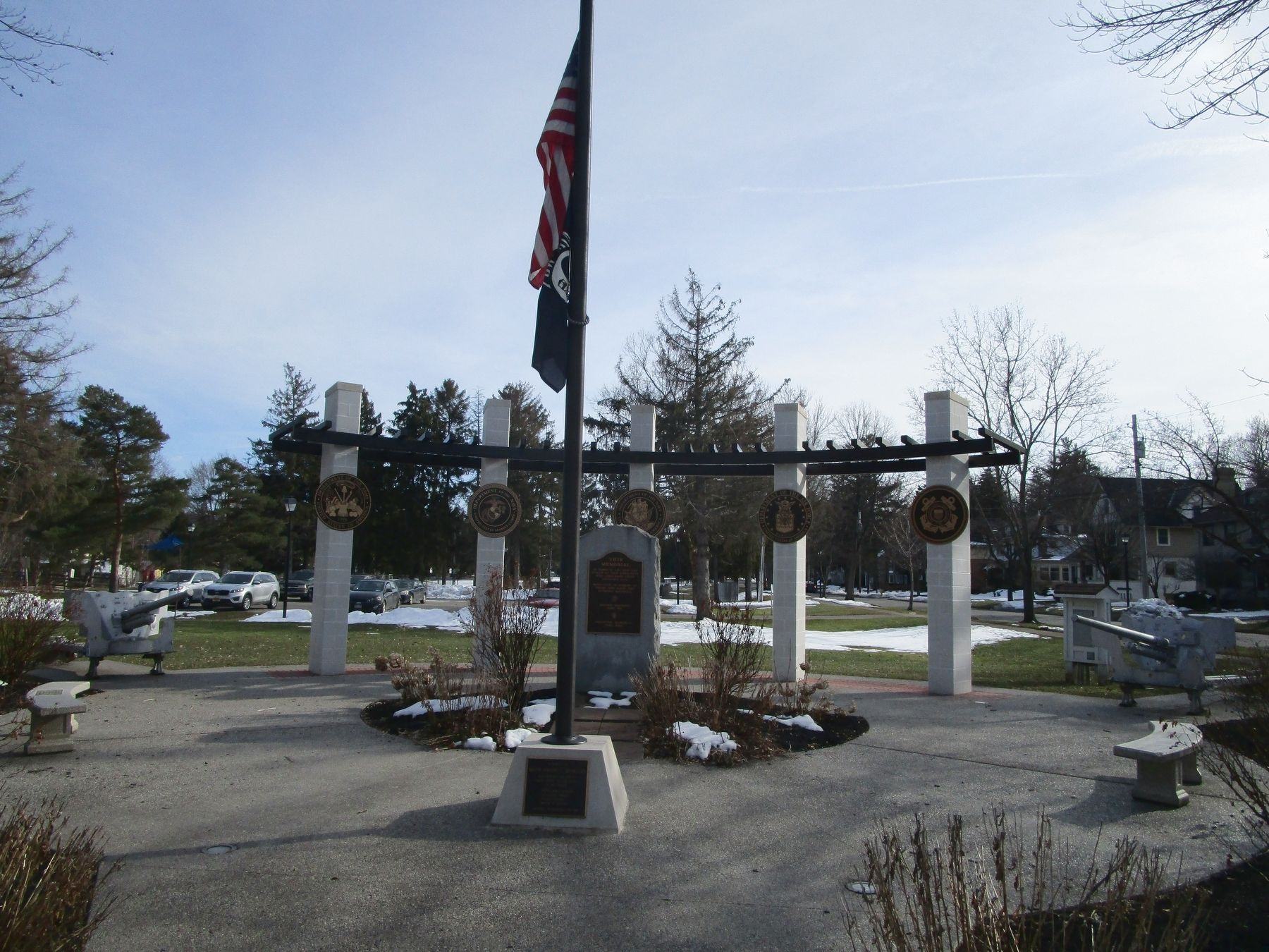 Fairport/Town of Perinton Veterans Memorial image. Click for full size.