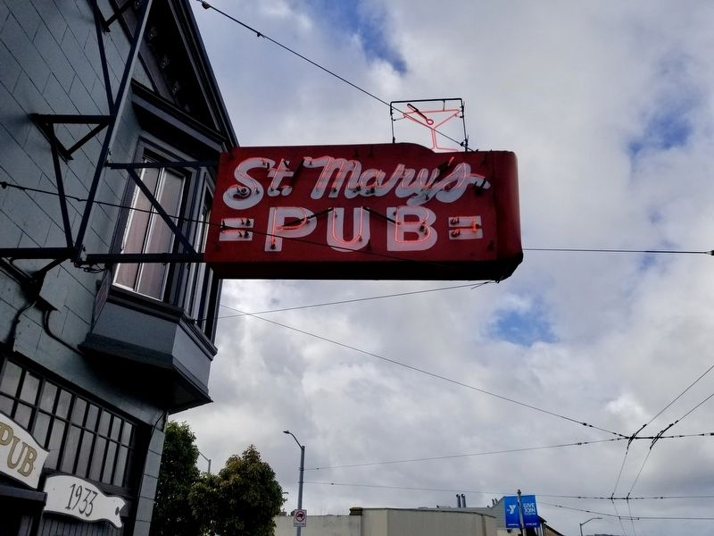 St. Mary's Pub Marker image. Click for full size.