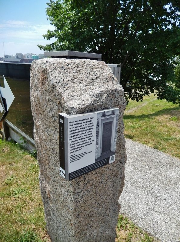 Rocky Neck Marker (<i>tall view</i>) image. Click for full size.