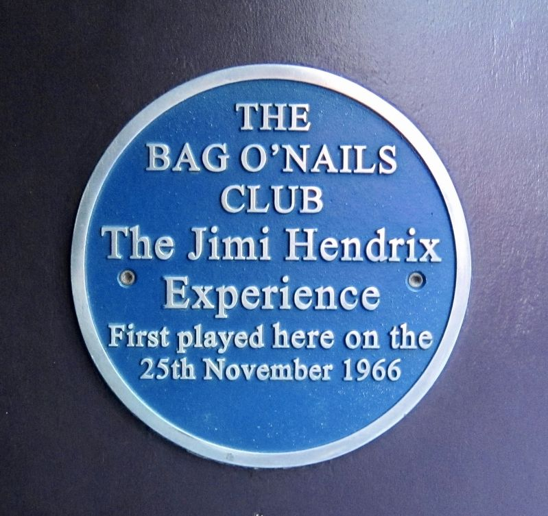 The Jimi Hendrix Experience Marker image. Click for full size.