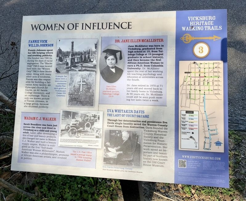 Women of Influence Marker image. Click for full size.