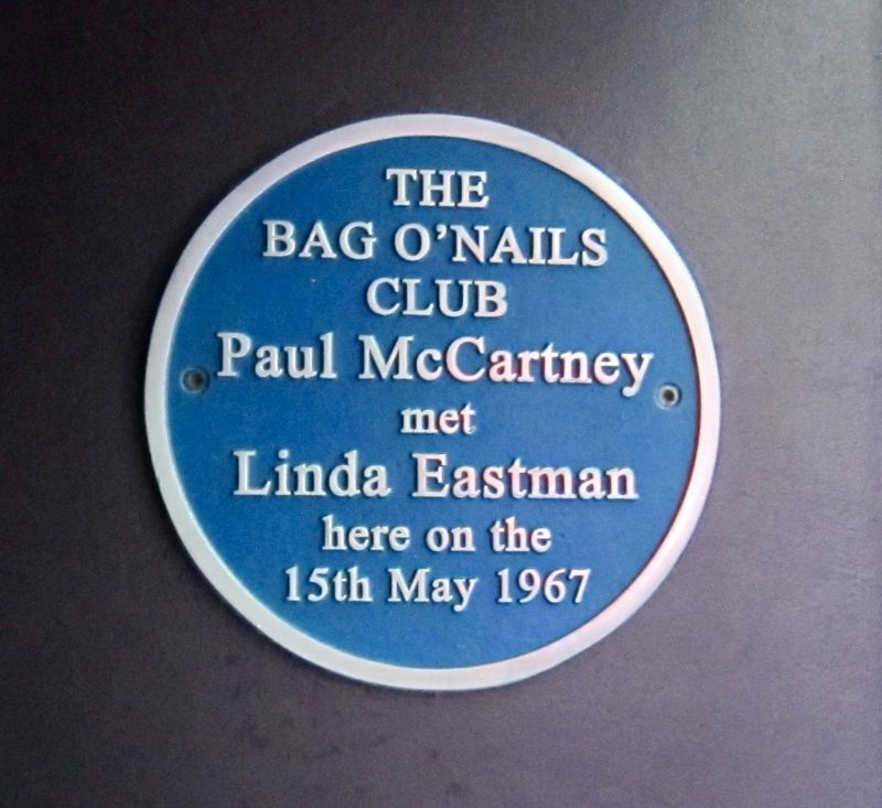 Paul McCartney Marker image. Click for full size.