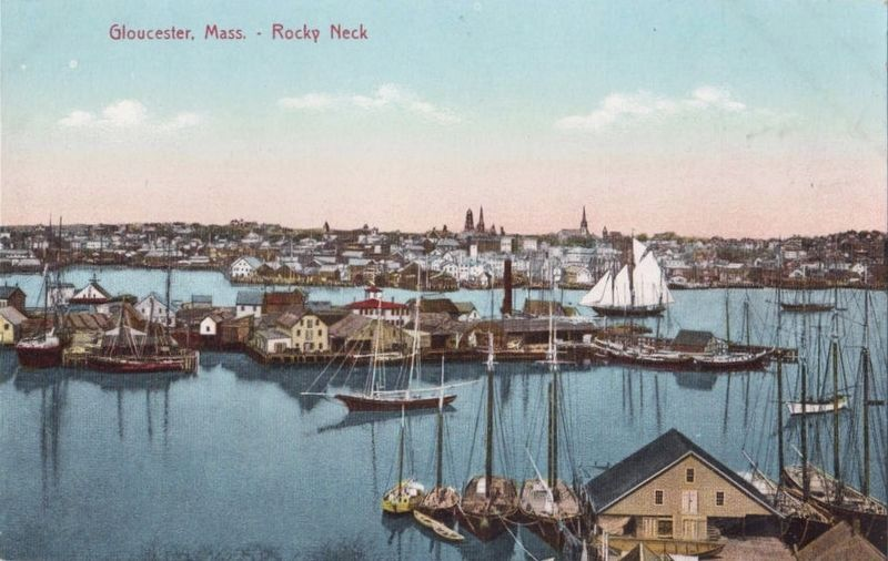 <i>Gloucester, Mass. - Rocky Neck</i> image. Click for full size.