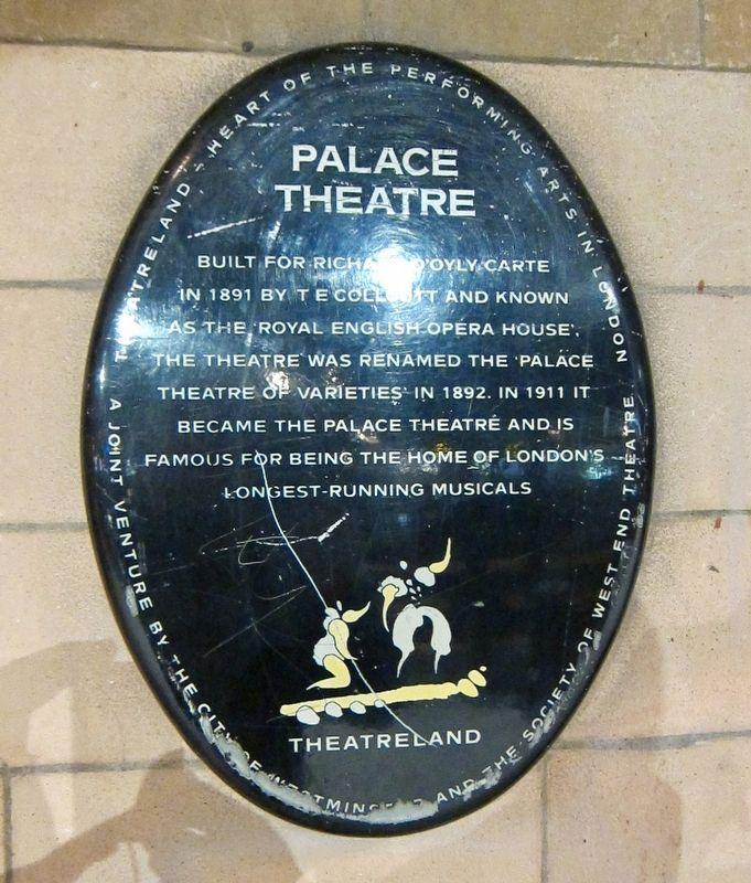 Palace Theatre Marker image. Click for full size.