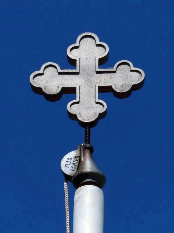 Cross Bottony<br>Maryland Flagpole<br>Wheaton Veterans Park image. Click for full size.