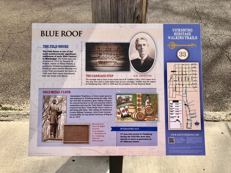 Blue Roof Marker image. Click for full size.