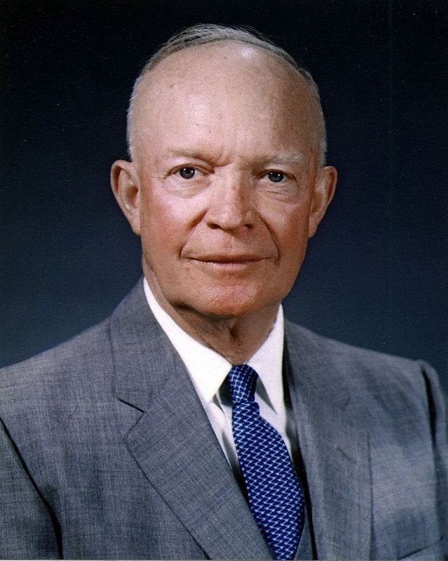 "President Dwight David ""Ike"" Eisenhower (October 14, 1890 – March 28, 1969) image. Click for full size."